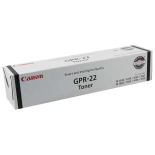 Original Toner 0386B003AA (GPR-22) toner cartridge - black cartridge