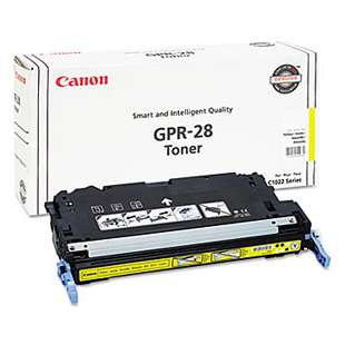 Original Canon 1657B004 (GPR-28) toner cartridge - yellow