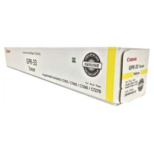 Original Canon 2804B003AA (GPR-33) toner cartridge - yellow
