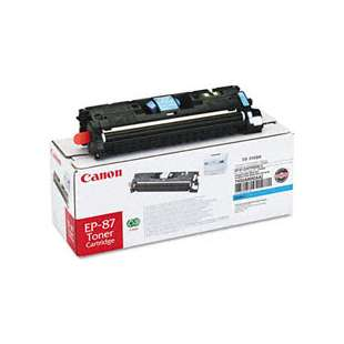 Genuine Brand Canon EP-87 toner cartridge - cyan