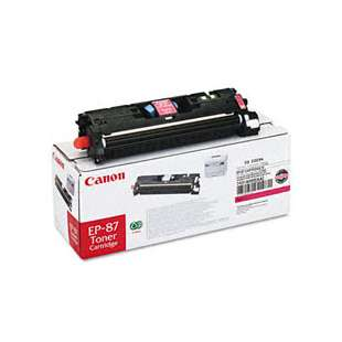 Genuine Brand Canon EP-87 toner cartridge - magenta