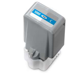 Compatible inkjet cartridge for Canon PFI-1000C - cyan
