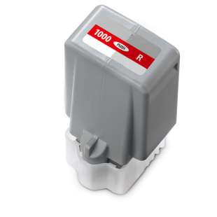 Compatible inkjet cartridge for Canon PFI-1000R - red