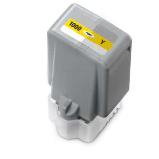 Compatible inkjet cartridge for Canon PFI-1000Y - yellow