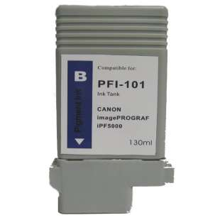 Compatible ink cartridge guaranteed to replace Canon PFI-101B - blue