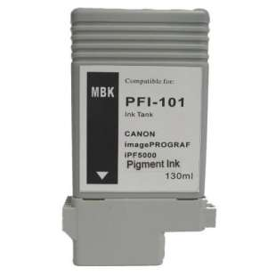 Compatible ink cartridge guaranteed to replace Canon PFI-101MBK - matte black