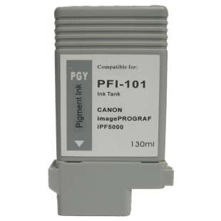 Compatible ink cartridge guaranteed to replace Canon PFI-101PGY - photo gray
