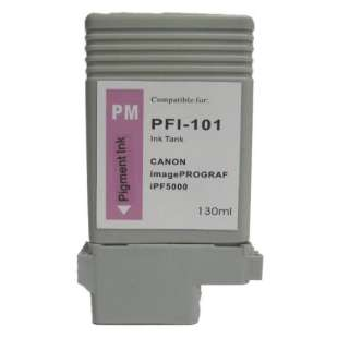 Compatible ink cartridge guaranteed to replace Canon PFI-101PM - photo magenta