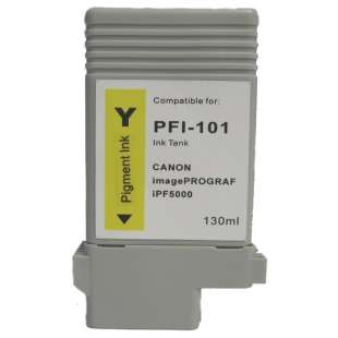 Compatible ink cartridge guaranteed to replace Canon PFI-101Y - yellow