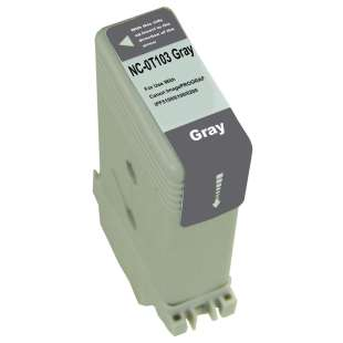 Compatible ink cartridge guaranteed to replace Canon PFI-103GY - gray