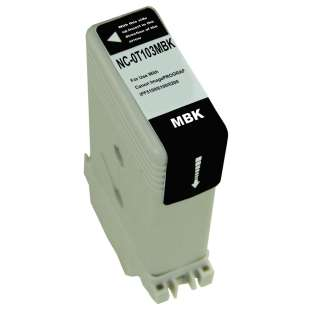 Compatible ink cartridge guaranteed to replace Canon PFI-103MBK - matte black
