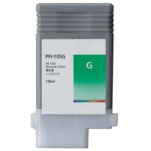 Compatible ink cartridge guaranteed to replace Canon PFI-105G - green