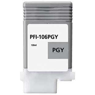 Compatible ink cartridge guaranteed to replace Canon PFI-106PGY - photo gray
