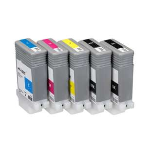 Compatible high quality inkjet cartridges Multipack for Canon PFI-107 - 5 pack