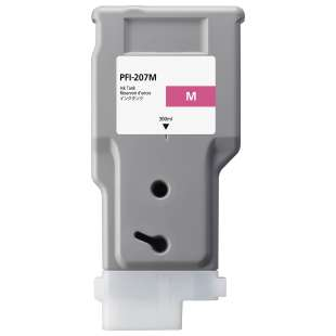 Compatible ink cartridge guaranteed to replace Canon PFI-207M - magenta