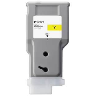 Compatible ink cartridge guaranteed to replace Canon PFI-207Y - yellow