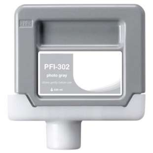 Compatible ink cartridge guaranteed to replace Canon PFI-302PGY - photo gray