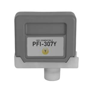 Compatible inkjet cartridge for Canon PFI-307Y - yellow