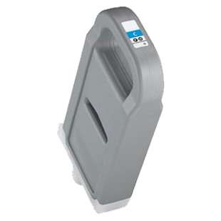 Compatible ink cartridge guaranteed to replace Canon PFI-703C - cyan