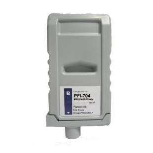 Compatible ink cartridge guaranteed to replace Canon PFI-704B - blue