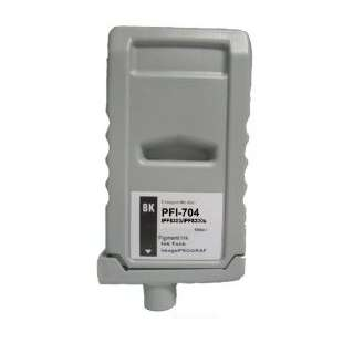 Compatible ink cartridge guaranteed to replace Canon PFI-704BK - black cartridge