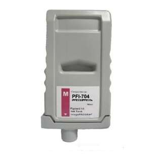 Compatible ink cartridge guaranteed to replace Canon PFI-704M - magenta