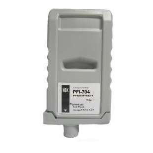 Compatible ink cartridge guaranteed to replace Canon PFI-704MBK - matte black