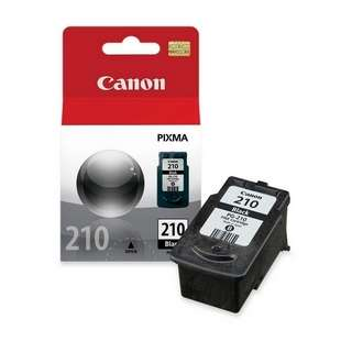 Genuine Brand Canon PG-210 high quality inkjet cartridge - pigmented black