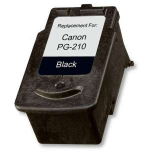 Remanufactured Canon PG-210 high quality inkjet cartridge - black cartridge