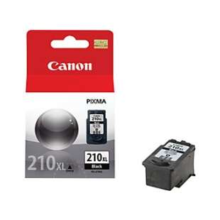 Genuine Brand Canon PG-210XL high quality inkjet cartridge - high capacity pigmented black