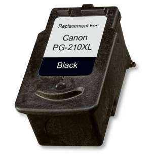Remanufactured Canon PG-210XL high quality inkjet cartridge - high capacity black