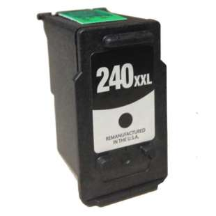 Remanufactured Canon PG-240XXL high quality inkjet cartridge - extra high capacity black
