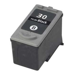 Remanufactured Canon PG-30 high quality inkjet cartridge - black cartridge