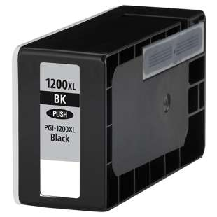 Compatible ink cartridge guaranteed to replace Canon PGI-1200BK XL - high capacity black