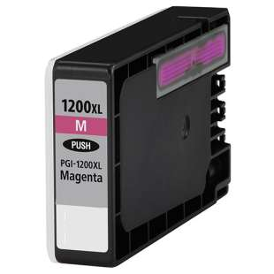 Compatible ink cartridge guaranteed to replace Canon PGI-1200M XL - high capacity magenta