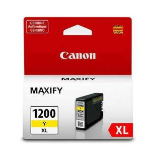 Genuine Brand Canon PGI-1200Y XL high quality inkjet cartridge - yellow