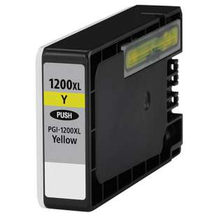 Compatible ink cartridge guaranteed to replace Canon PGI-1200Y XL - high capacity yellow