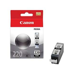 Genuine Brand Canon PGI-220 high quality inkjet cartridge - pigmented black