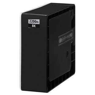 Compatible ink cartridge guaranteed to replace Canon PGI-2200BK XL - high capacity black