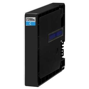 Compatible ink cartridge guaranteed to replace Canon PGI-2200C XL - high capacity cyan