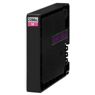 Compatible ink cartridge guaranteed to replace Canon PGI-2200M XL - high capacity magenta
