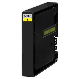 Compatible ink cartridge guaranteed to replace Canon PGI-2200Y XL - high capacity yellow