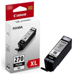 Genuine Brand Canon PGI-270 XL high quality inkjet cartridge - pigmented black