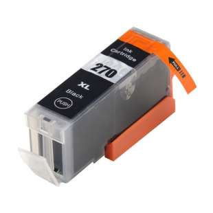 Compatible ink cartridge guaranteed to replace Canon PGI-270 XL - black cartridge