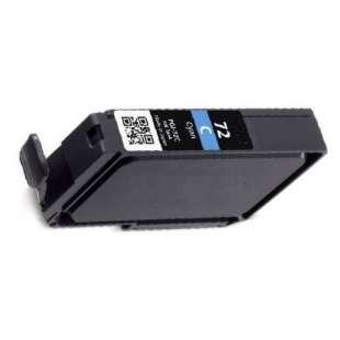 Compatible ink cartridge guaranteed to replace Canon PGI-72C - cyan