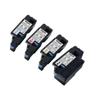 Remanufactured for Dell 331-0778 / 331-0777 / 331-0780 / 331-0779 toner cartridges - high capacity - 4-pack