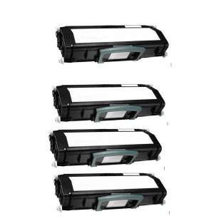 Remanufactured for Dell 330-4130 toner cartridge - black cartridge - 4-pack