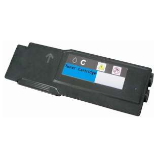 Remanufactured for Dell 331-8432 (1M4KP) toner cartridge - extra high capacity cyan