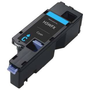 Remanufactured for Dell 593-BBJU (H5WFX) toner cartridge - cyan