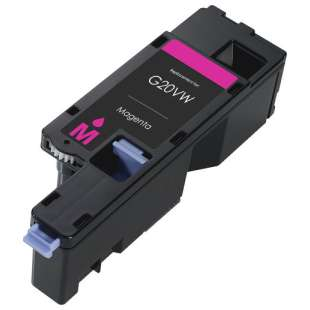 Remanufactured for Dell 593-BBJV (G20VW) toner cartridge - magenta